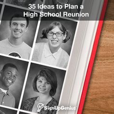 35 Ideas to Plan a High School Class Reunion. Get tips for location/venue, games, activities, decorations and more.