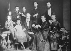 Giclee Print: The Family of Russian Author and Playwright Anton Chekhov, Taganrog, Russia, 1874 by S Isakovich : Humorous Short Stories, Famous Short Stories, Anton Chekhov, Games For Fun, Imperial Russia, Playwright, Russian Art, Family Portraits, Giclee Print