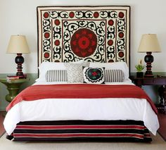 Really nice color combination #bedroom décor, beds, headboards, four poster, canopy, tufted, wooden, classical, contemporary bedroom, nightstand, walls, flooring, rugs, lamps, ceiling, window treatments, murals, art, lighting, mattress, bed linens, home décor, #interiordesign bedspreads, platform beds, leather, wooden beds, sofabed
