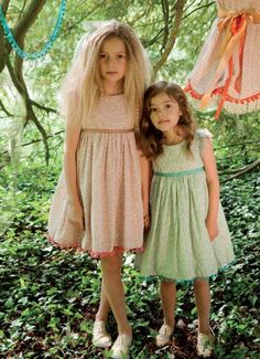 Gorgeous Flower Girl Dresses  April 05, 2012    I Love Gorgeous sells such pretty flower girl dresses — their soft color palettes and delicate silhouettes are elegant but still age appropriate:
