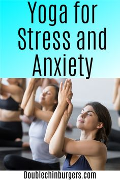 Yoga for stress | Yoga for stress relief | Relief | Morning Yoga for stress relief | Beginner | Easy | Restorative | Videos | Anxiety | Activities | Yoga poses for stress relief Stress Yoga, Yoga For Stress Relief, Coping With Stress, Stress And Anxiety, Anxiety Activities, Physical Activities, Lack Of Energy, Yoga Moves, Yoga For Flexibility