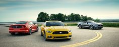 2015 Mustang All-New 2.3L EcoBoost® Mustang is out of the gate with its first-ever EcoBoost® engine - a 2.3L marvel of power.