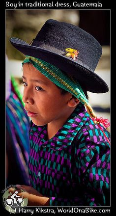 Boy in traditional dress, Guatemala by exposedplanet, via Flickr