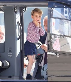 Is Prince George even aware of his cuteness?