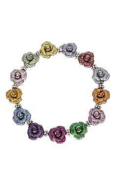 Every Flower Has Its Own Color Necklace by Sintessi