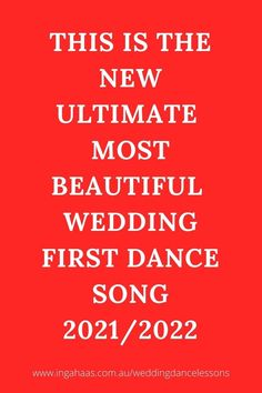 This song, without a doubt, is going to go viral. The most beautiful first dance song for your wedding. Just love it!!! #firstdance #firstdancesongs #weddingdance #perthweddings #perthweddingdancelessons #bestweddingdancesongs Best Wedding Dance, Dance It Out, First Dance Songs, Dance Lessons, Beautiful One, Just Love
