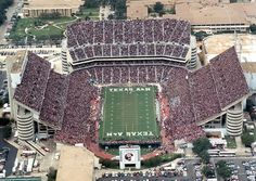 there is no way to explain what its like to be part of an aggie football game