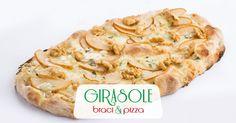 Pinsa Pere e Gorgonzola
