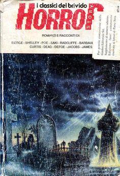 """Horror Story 5"" (1991) #Horror #GardenEditoriale #AmbroseBierce #EdgarAllanPoe #MaryShelley"