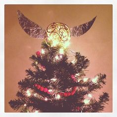 Harry Potter Christmas tree topper!!  Grimace Tree - Imgur