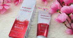 pasta dental radiant de colgate, como tener unos dientes brillantes, peróxido de hidrógeno, agua oxigenada, colgate optic white, pastal dental blanqueadora