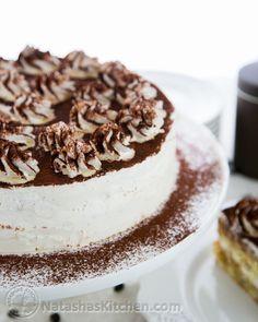 Tiramisu Cake Tall