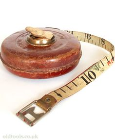 Rabone chesterman Tape Measure - reminds me of PE for some reason