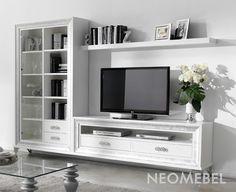 neoclassic TV stand