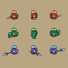 Knights of the Seasons Icon, Pixel Art, Buddy Icons, Forum Avatars Piskel Art, Pix Art, Game Character Design, Character Art, Game Design, Character Concept, Animation Reference, Art Reference, How To Pixel Art