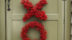How To Make Valentine's Day XO Wreaths