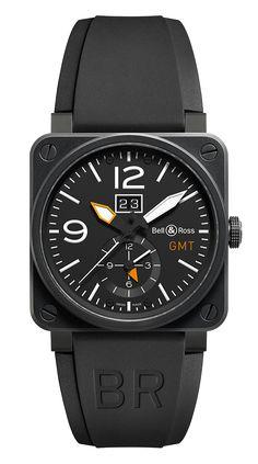 WATCH SWITZERLAND       BELL & ROSS       BR 03 51 GMT    CARBON