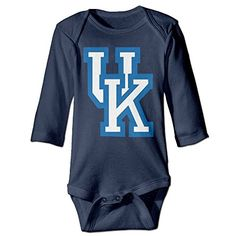 NORAL Babys University Of Kentucky Long Sleeve Baby Climbing Clothes Navy Size 18 Months >>> Want to know more, visit