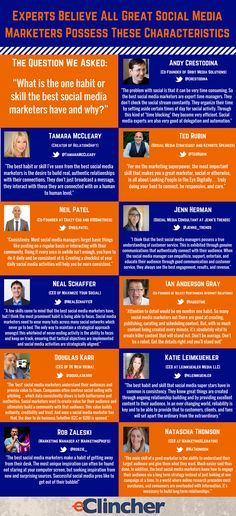 Experts Believe All Great Social Media Marketers Possess These Characteristics
