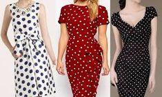 puantiyeli elbise modelleri ile ilgili görsel sonucu