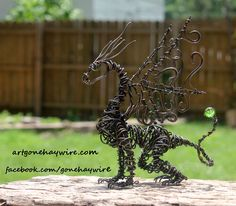 Custom Lil Bit Dragon  Haywire Art