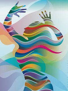 Cuando danzas entre líneas y colores! Muack