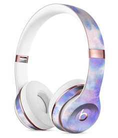 Washed 4221 Absorbed Watercolor Texture Full-Body Skin Kit for the Beats by Dre Solo 3 Wireless Headphones
