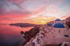 Buona Notte  #Sunset #Santorini #greece