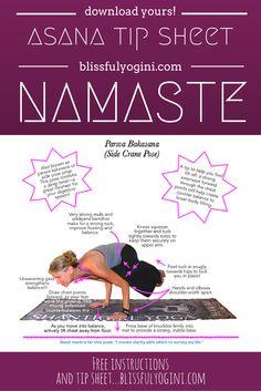 Crow or crane? You decide! ❤️ ~ aloha & namaste, blissfulyogini.com #yoga #asanatips #yogateachers #blissfulyoginis