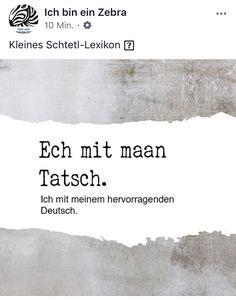 Kleines Schtetl Lexikon Food, Essen, Meals, Yemek, Eten