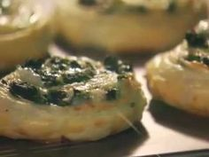 Spinach- Cheese Swirls (Puff Pastry Recipe)