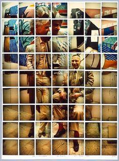 """A fotografia """"cubista"""" de David Hockney"""