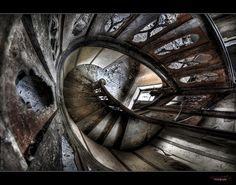 "UE Abandoned ""Chateau Clochard"" (France) ~ rustysphotography @ flickr © Copyright Rusty's Photog®aphy 2011"