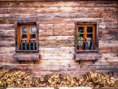 Chalet / Partytime by ChristianThür Photography on Creative Market Cabin, House Styles, Creative, Photography, Home Decor, Fotografie, Room Decor, Cabins, Fotografia