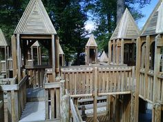 Wills Park - Alpharetta, GA ~ One of three playgrounds at this fabulous city park!