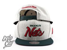 Brooklyn Nets Gucci Inspired Snapback Cap by NEW ERA x MITCHELL & NESS Air Foamposite Pro, Red Color Schemes, Brooklyn Nets, Foam Posites, Cycling Jerseys, Snapback Cap, Italian Fashion, Metallic Gold, Beanies