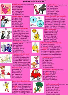 German vocabulary (part 2)