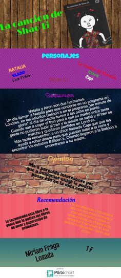 Infolectura. La canción de Shao-Li, por Miriam