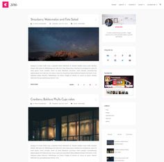 27-Vanice-–-Magazine-style-blogger-template | Avalom designs Blogs ...
