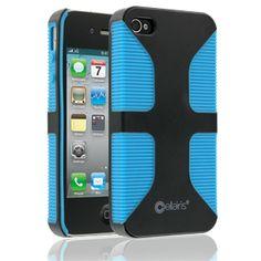 iPhone 4/s Case - Frabel Trek Black/Blue