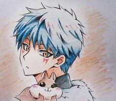 Shin ah...akatsuki no yona...blue dragon...blue hair...kawaii