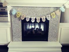 Boy baby shower banner!