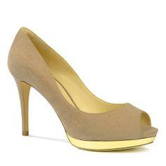 Basic Peep Toe Pumps - Nude - Heels - Shoes | CHARLES & KEITH