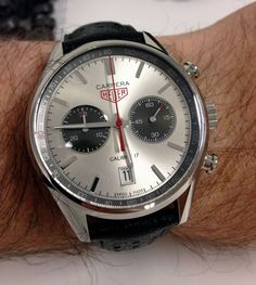 One of my favorite watches of all time, Heuer Carrera.