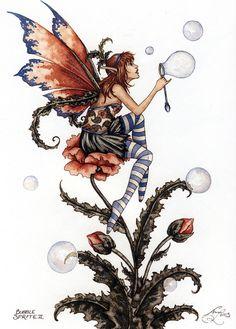 Amy Brown Bubble Sprite II