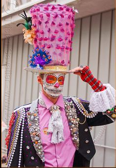 day of the dead Master of Scaremonies