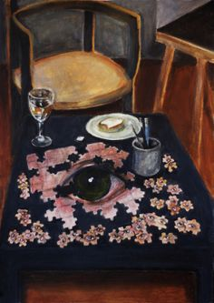 "Saatchi Online Artist: Rebeka Kurdi; Acrylic, 2012, Painting ""Utopia"""