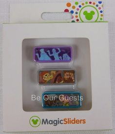 Disney Magic Kindgom Park Magic Band Sliders Haunted Mansion Pirates Dwarfs New