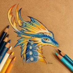 Tropical dragon by AlviaAlcedo on DeviantArt