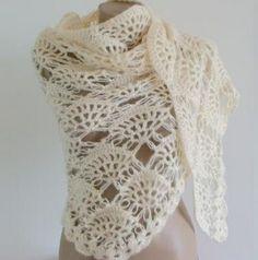 lu lu belle: Knitted Shawls by Trendy Knitting
